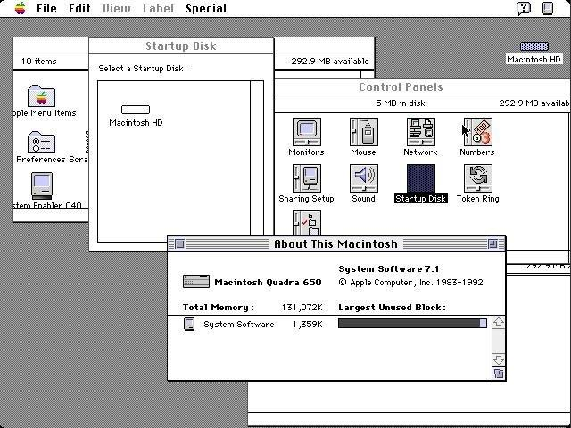 System Software 7.1