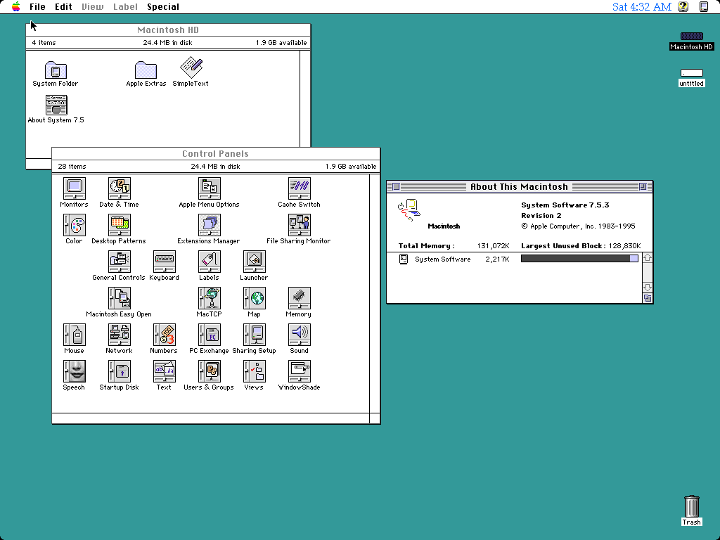 System Software 7.5.3
